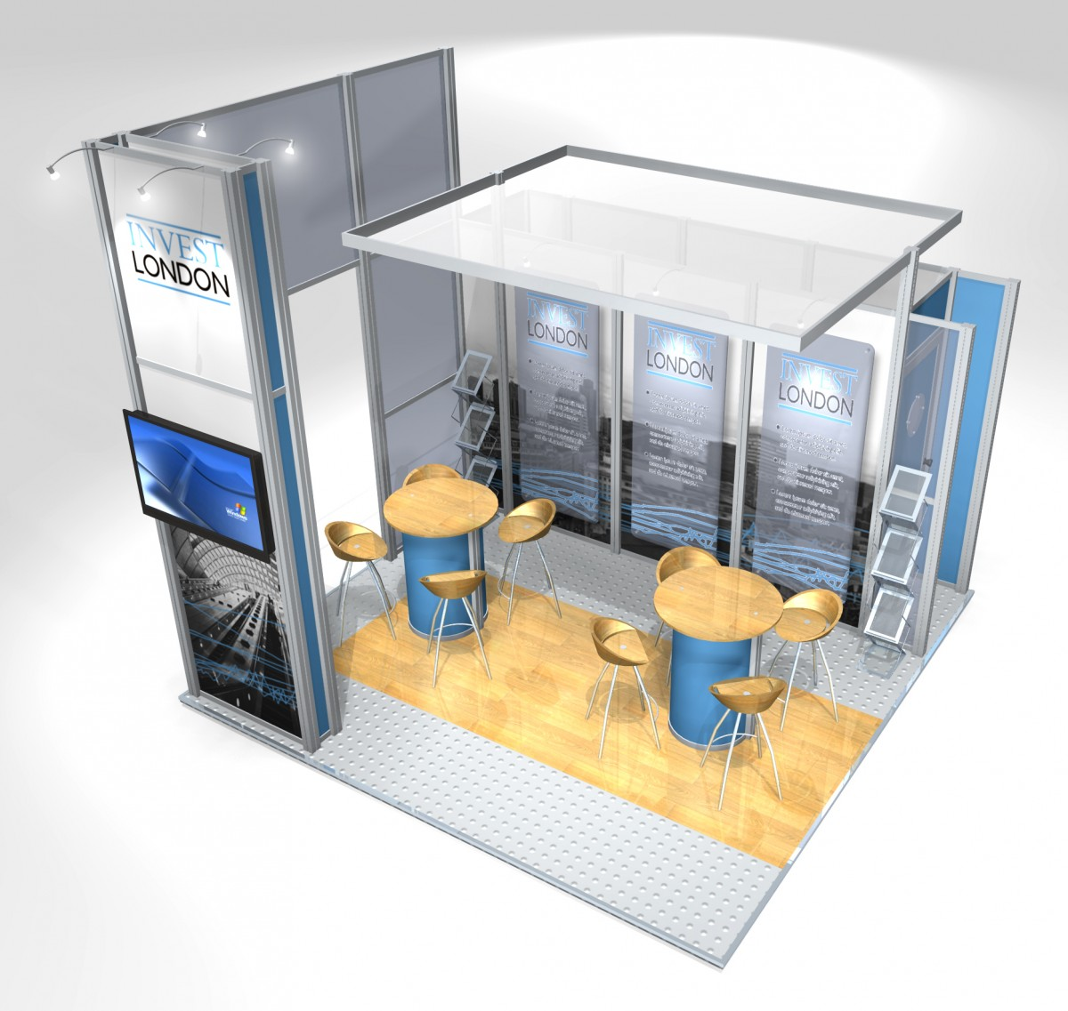 Exhibition Displays Uk : Linx exhibition systems paul turner displays