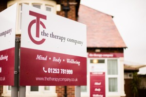 The Therapy Company signage
