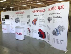 Weishaupt Wave stand